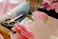 Sewing accesories Royalty Free Stock Photography