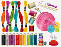 Free Sewing Accessories Stock Photography - 48658932