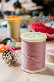 Sewing and accessories. Royalty Free Stock Images