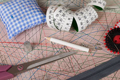 Sewing accessories 1 Stock Photos