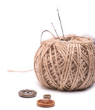 Sewing accessories Royalty Free Stock Image