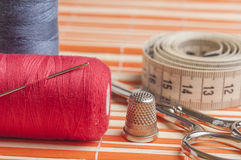 Sewing Accessories series Stock Image