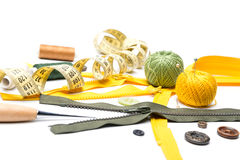 The sewing accessories Royalty Free Stock Photography