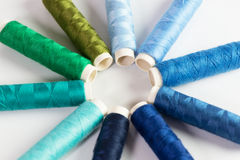 Sewing accessories Royalty Free Stock Photography