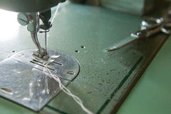 Sewing area Royalty Free Stock Images