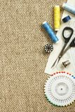 Sewing background Royalty Free Stock Photography