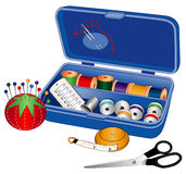 Sewing Box Stock Photography
