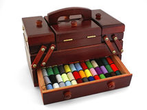 Sewing box Royalty Free Stock Image