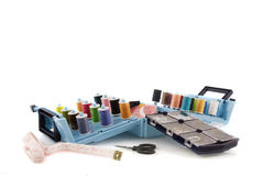 Sewing-box Royalty Free Stock Image