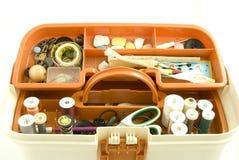 Sewing box royalty free stock photos