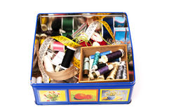 Sewing box Royalty Free Stock Photography
