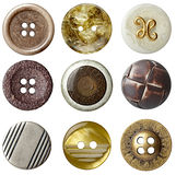 Sewing button Stock Photography