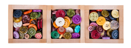Sewing button Royalty Free Stock Photos