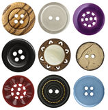 Sewing buttons Royalty Free Stock Photos