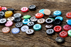 Free Sewing Buttons Royalty Free Stock Image - 44418396