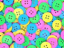Sewing buttons background Royalty Free Stock Photo