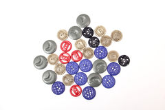 Sewing buttons Stock Image