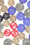 Sewing buttons Stock Photo