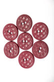 Sewing buttons Stock Images