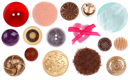 Sewing Buttons royalty free stock images
