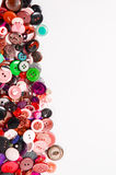 Sewing buttons with space for text Royalty Free Stock Image