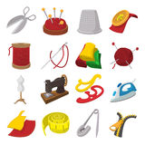 Sewing cartoon icon Royalty Free Stock Photos