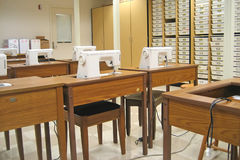 Sewing Classroom 1 Royalty Free Stock Photo