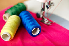 Sewing Royalty Free Stock Photo