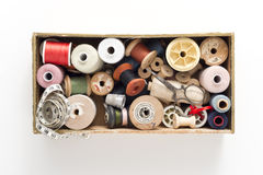 Sewing collection Stock Photo