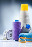A sewing  composition Royalty Free Stock Photography