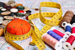 Sewing concept Royalty Free Stock Photography