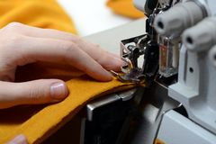 Sewing concept Royalty Free Stock Photos