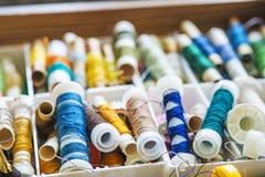 Sewing cotton Stock Photos