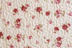 Sewing cotton fabric. Textile background. Stock Photography