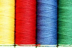Sewing cottons Stock Image