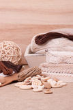Sewing Craft Kit. Tailoring Accessories Royalty Free Stock Images