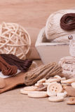 Sewing Craft Kit. Tailoring Accessories Stock Photography