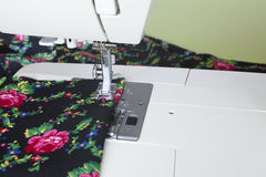 Sewing da máquina imagem de stock