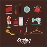 Sewing design Stock Photos