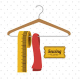 Sewing design Royalty Free Stock Photography