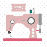 Sewing design Royalty Free Stock Photos
