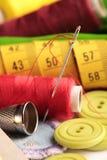 Sewing detail stock image