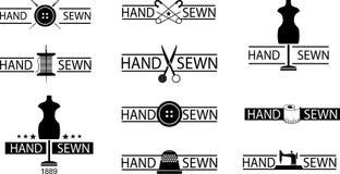 Sewing emblem Stock Photo