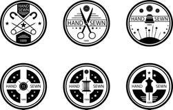 Sewing emblem Stock Photos