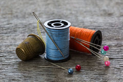 Sewing equipment, tools Royalty Free Stock Photography
