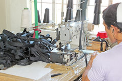 Sewing Factory Royalty Free Stock Photo