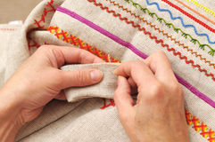 Sewing  hobby Royalty Free Stock Images