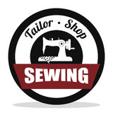 Sewing icon design Stock Photography