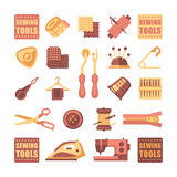 Sewing Icon Set Vector Stock Images