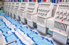 Sewing industry equipment Royalty Free Stock Image